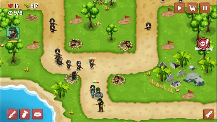 Turret Defense: BTD Battles screenshot-3