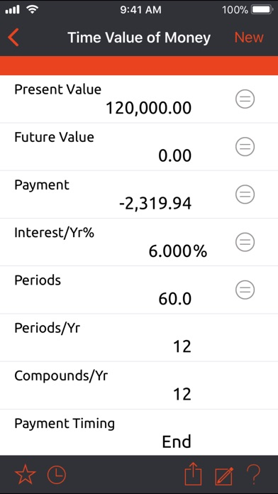 powerOne Finance Calculator - Pro Edition Screenshot 2