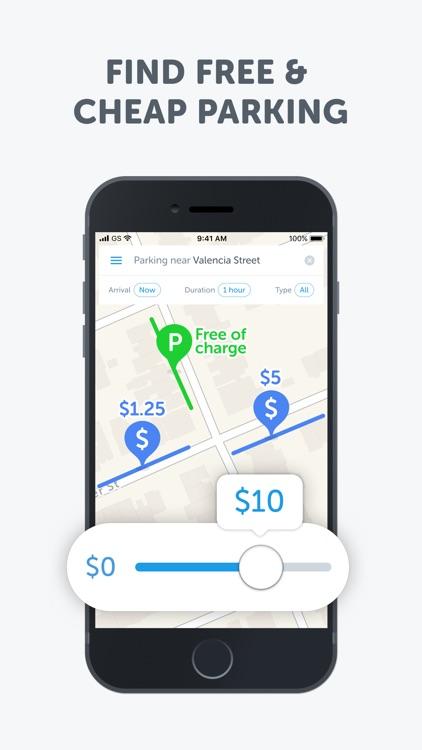 SpotAngels Parking Maps