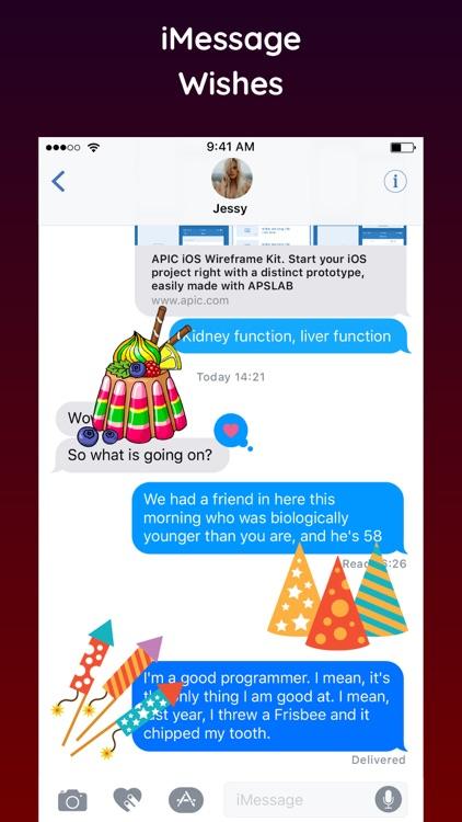 Happy Birthday Sticker 2018 screenshot-3