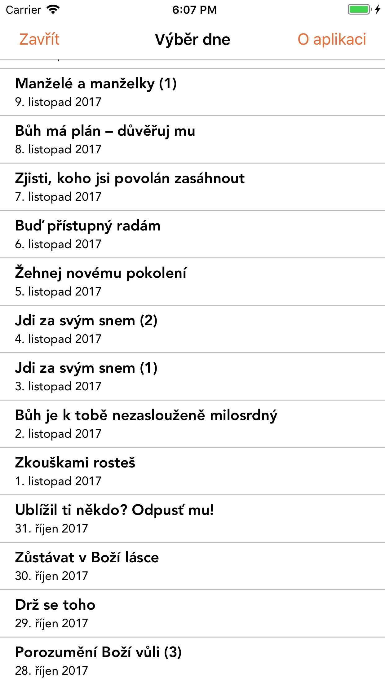 SPKD - Slovo pro každý den Screenshot