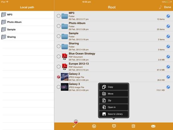 Screenshot #4 pour AirDisk Pro