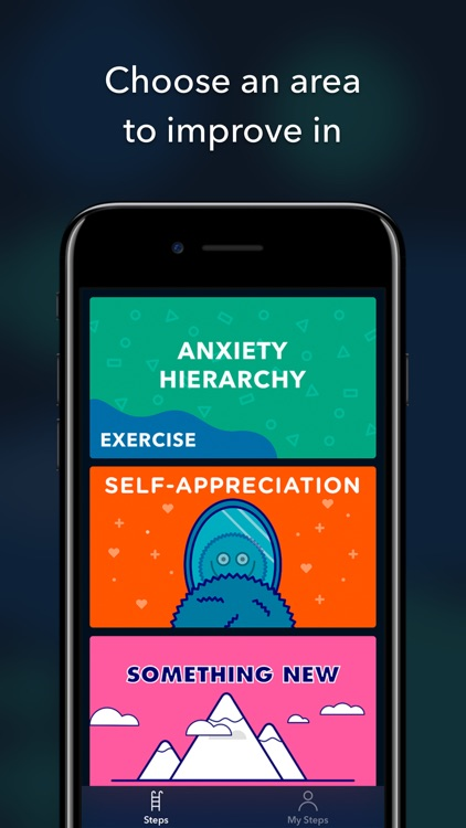 Steps: Beat social anxiety screenshot-0