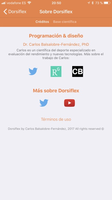 Screenshot for Dorsiflex in Chile App Store