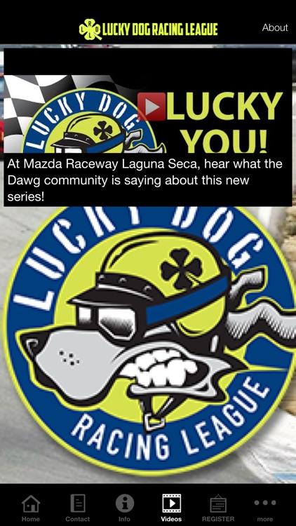 Lucky Dog Racing League