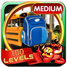 Activities of School Bus Hidden Objects Game