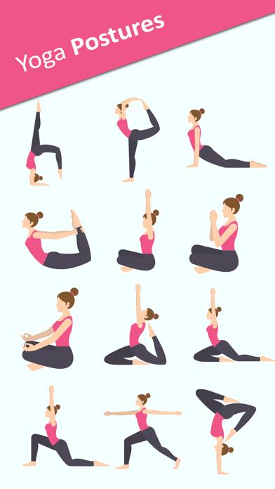 Yoga Sticker Pack - BodyBuilder,Meditation Sticker screenshot one