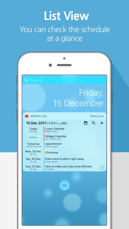 Widget Calendar : Easy&Simple screenshot-3