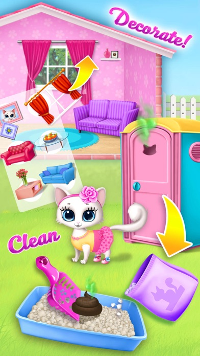 Kitty Meow Meow My Cute Cat screenshot 5