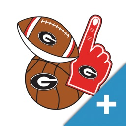 Georgia Bulldogs PLUS Selfie Stickers