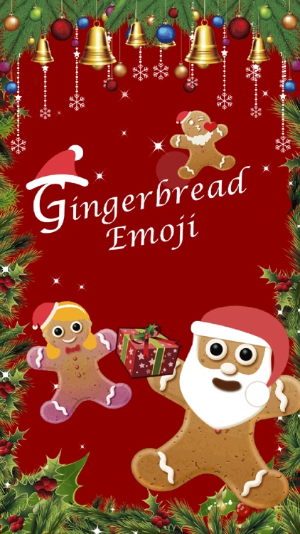 Christmas Gingerbread Emoji