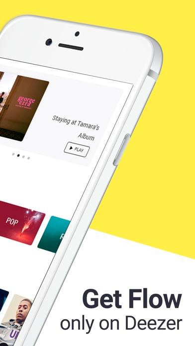 Deezer - Music Player & Radio Screenshots