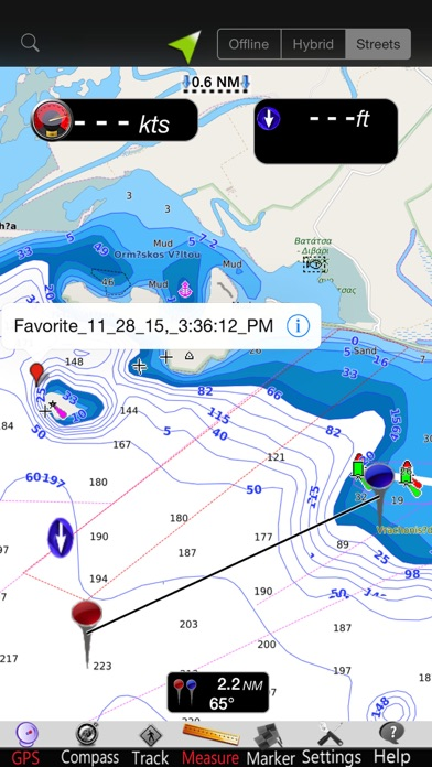 Greece West GPS Nautical Chart screenshot four
