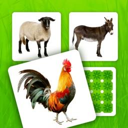 Farm Pairs - Match Animals