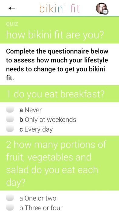 ... Screenshot #10 for Bikini Fit: a 4 week plan for beach body fitness