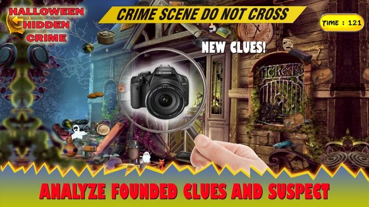 Halloween Hidden Crime Case screenshot-3