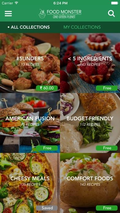 Food Monster - Vegan Recipes