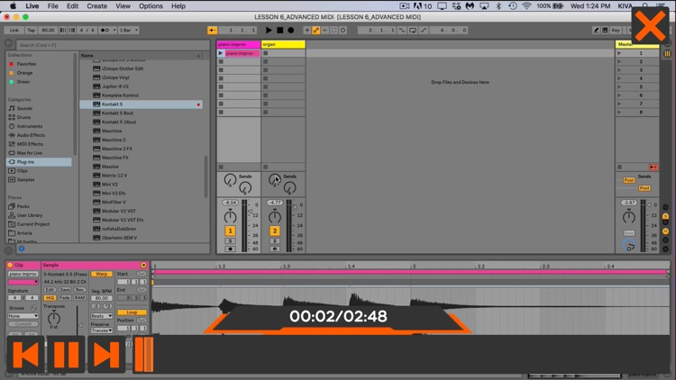 Adv. MIDI Course For Ableton