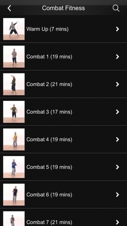 Karate & Combat Fitness screenshot-4