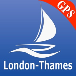 London - Thames Nautical Chart