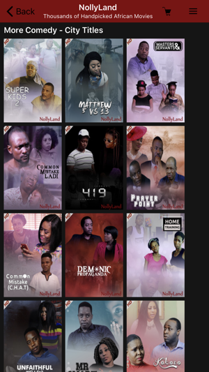 NollyLand - Nigerian Movies on the App Store