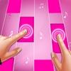 Pink Piano Tiles : Piano Games