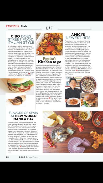 FOOD (Magazine) screenshot 4