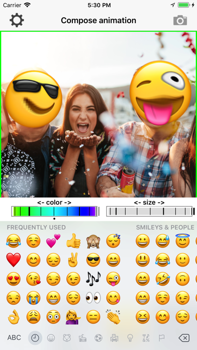 Zoominator screenshot one