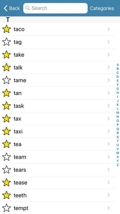 ASL Fingerspell Dictionary screenshot-4