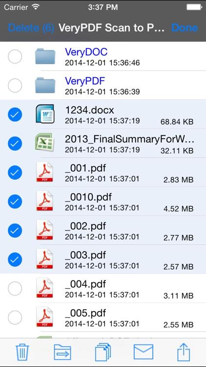 VeryPDF Scan to PDF screenshot-3