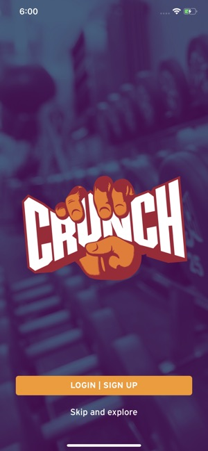 Crunch Fitness on the App Store