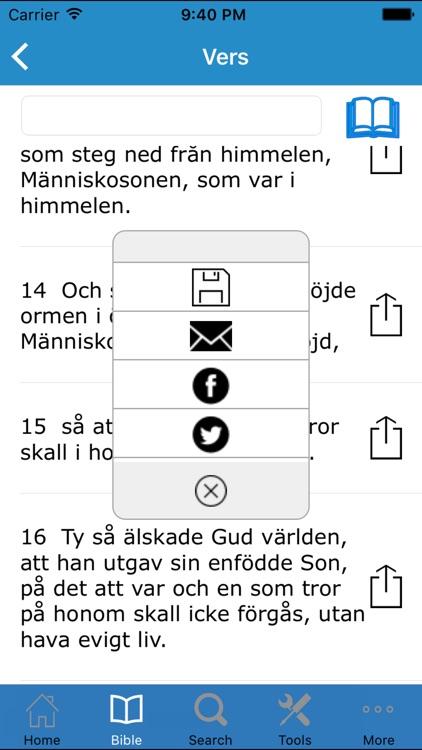 The Bible in Swedish (Bibeln på Svenska)