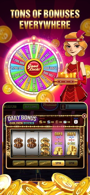 More Slot Machines