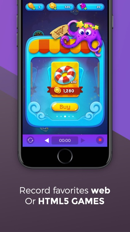Game Recorder Pro: Record HTML5 games & websites