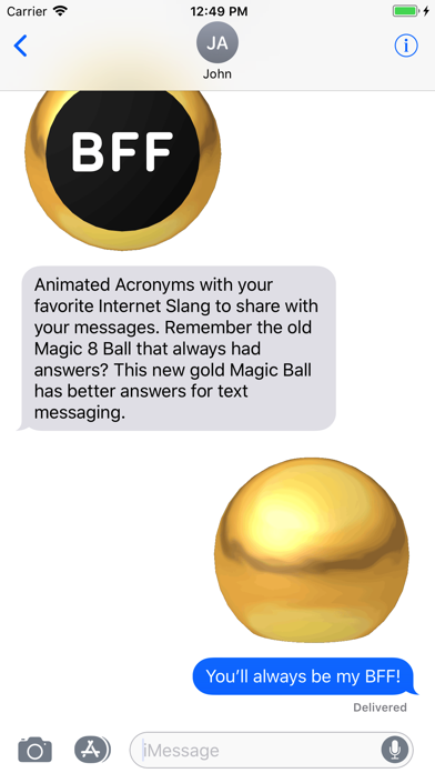 点击获取Magic Ball 1 Acronyms