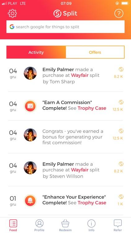 Split - It pays to share! screenshot-0