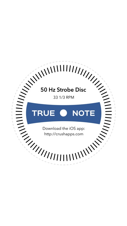 True Note - Record Player Test