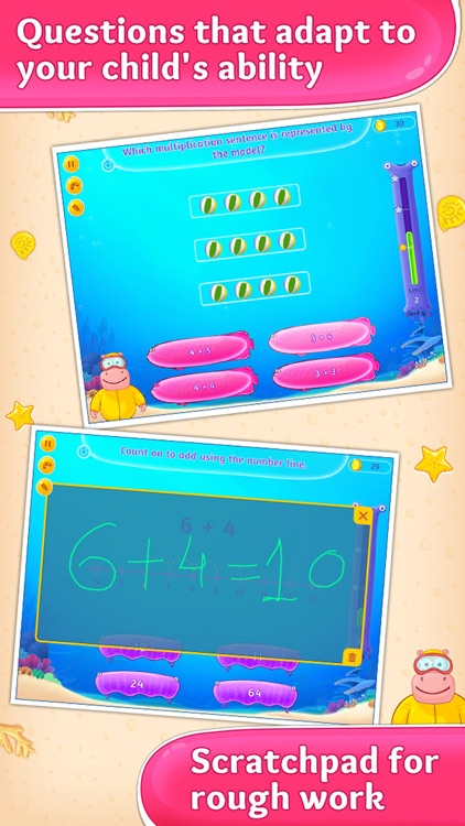 3rd Grade Math Games for Kids screenshot-2