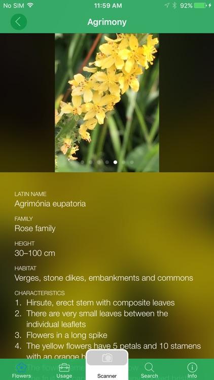 Mobile Flora - Wild Flowers screenshot-4