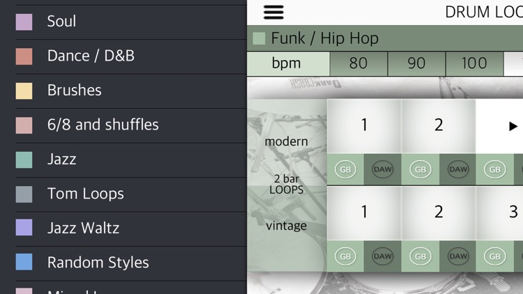 Drum Loops HD screenshot-2