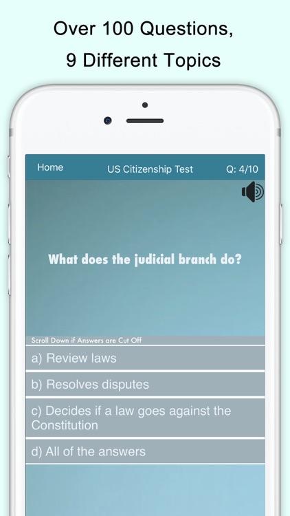 US Citizenship Test (USCIS) screenshot-0