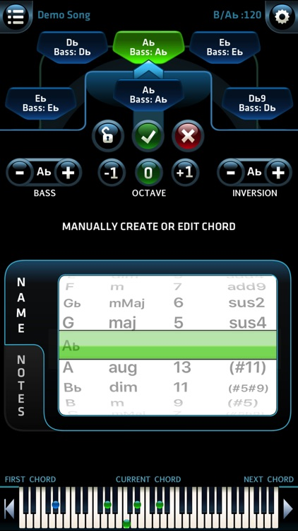 Pro Chords - Instant Inspiration - w. WiFi MIDI screenshot-3