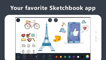 Draw.ing Pad, Doodle Paint Art app image