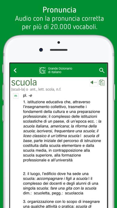 Dizionario Italiano Garzantiのおすすめ画像3