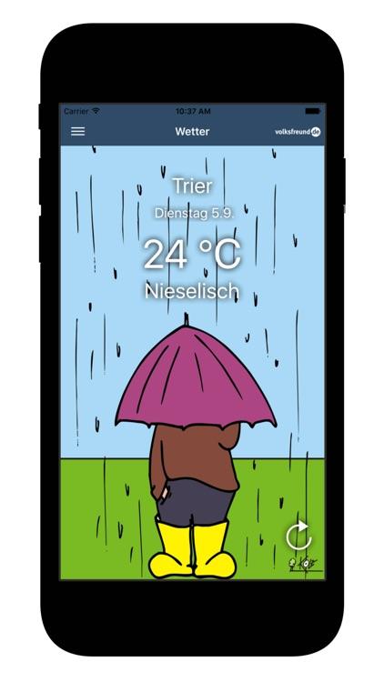 Wetter für Trierer screenshot-3