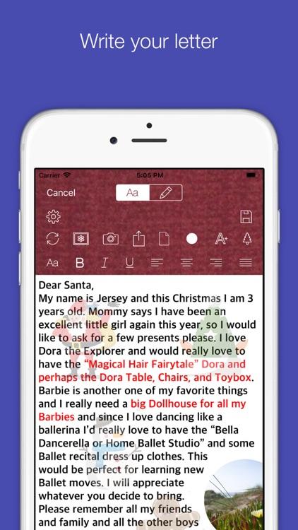 Santa's-Letter screenshot-0