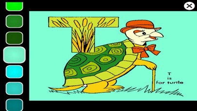 Learn ABC Animal Coloring Book screenshot one