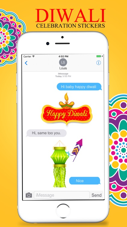 Diwali Stickers Pack For iMessage screenshot-3