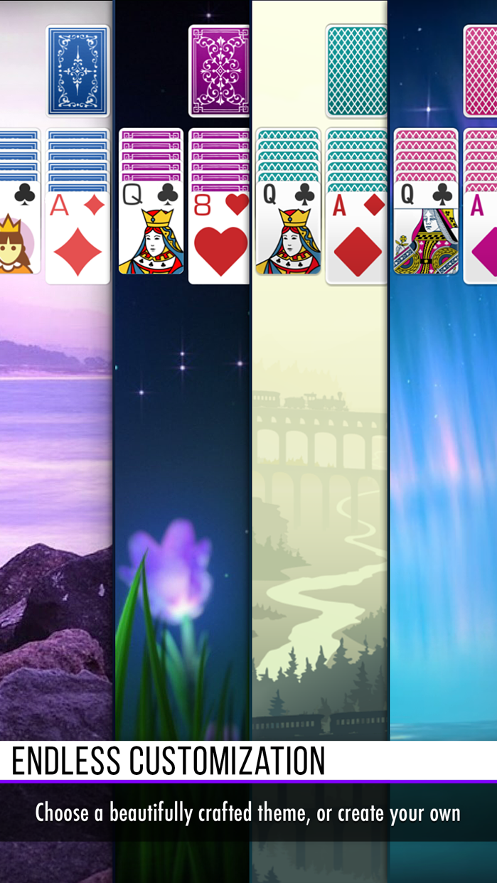 Solitaire ◆ Screenshot