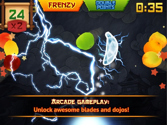Fruit Ninja Classic Скриншоты7
